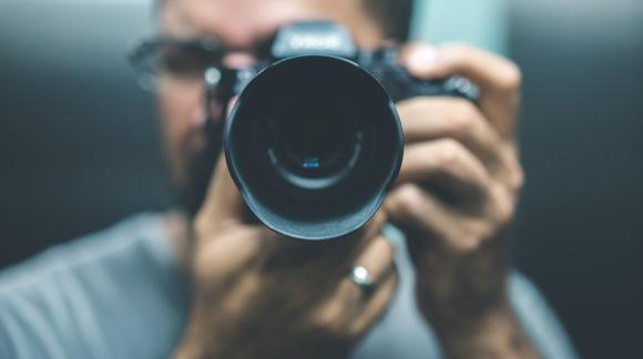 Photographer, Camera - Photographic Equipment, Digital Camera, Adult, Digital Single-Lens Reflex Camera